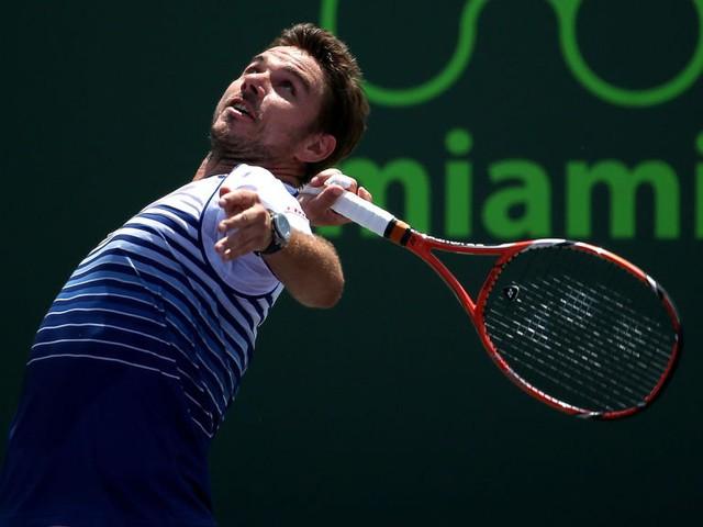 Theo chân Nadal, Stan Wawrinka cũng đã bị loại khỏi Miami Open 2015: