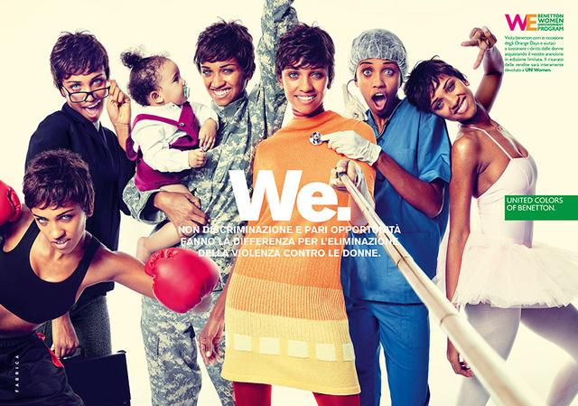 Cùng Chà Mi còn có 2 người mẫu quốc tế khác được lựa chọn chụp hình quảng bá cho chiến dịch