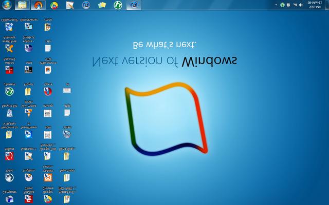 Màn hình Desktop bị lộn ngược