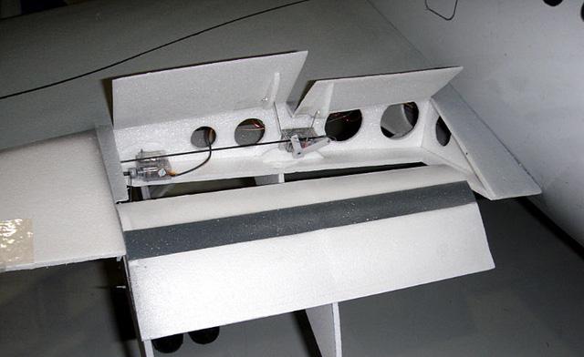 Phần cánh của mô hình
