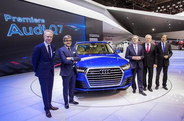 Chiếc Audi Q7 2015 ra mắt tại triển lãm NAIAS 2015