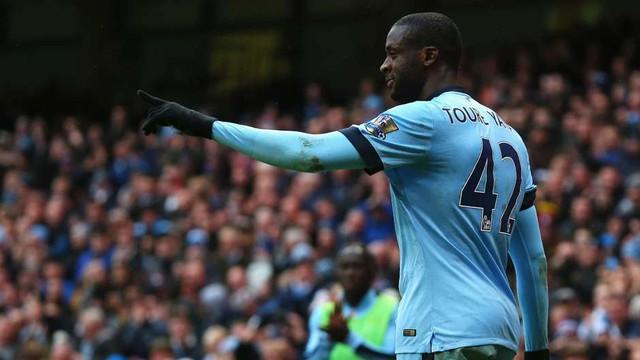 ... nhưng Yaya Toure đặc biệt nguy hiểm trong những trận derby Manchester.
