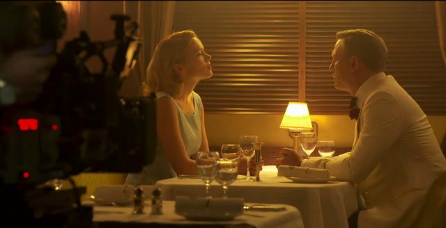 Léa Seydoux và Daniel Craig trong Spectre - phần phim mới nhất về James Bond