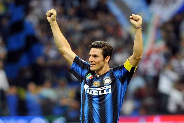 Javier Zanetti là cầu thủ Argentina kinh nghiệm nhất tại cúp châu Âu.
