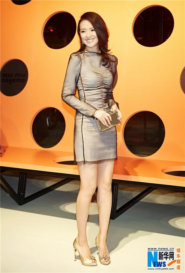 Chương Tử Di là khách mời tại Tokyo Fashion Week.