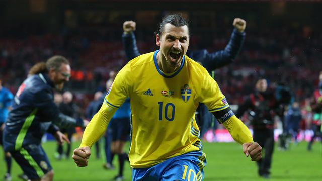 Đây có thể sẽ là kì Euro cuối cùng của Ibrahimovic (Ảnh: AP)
