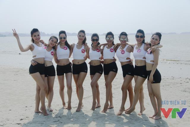 Sáng 14/5, các thí sinh Hoa hậu Biển Việt Nam đã tiếp tục có những hoạt động ngoài trời thú vị