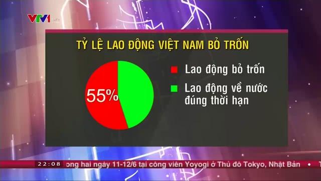 Tỷ lệ lao động Việt Nam ở Hàn Quốc bỏ trốn lên đến 55% trong tổng số 75.000 lao động
