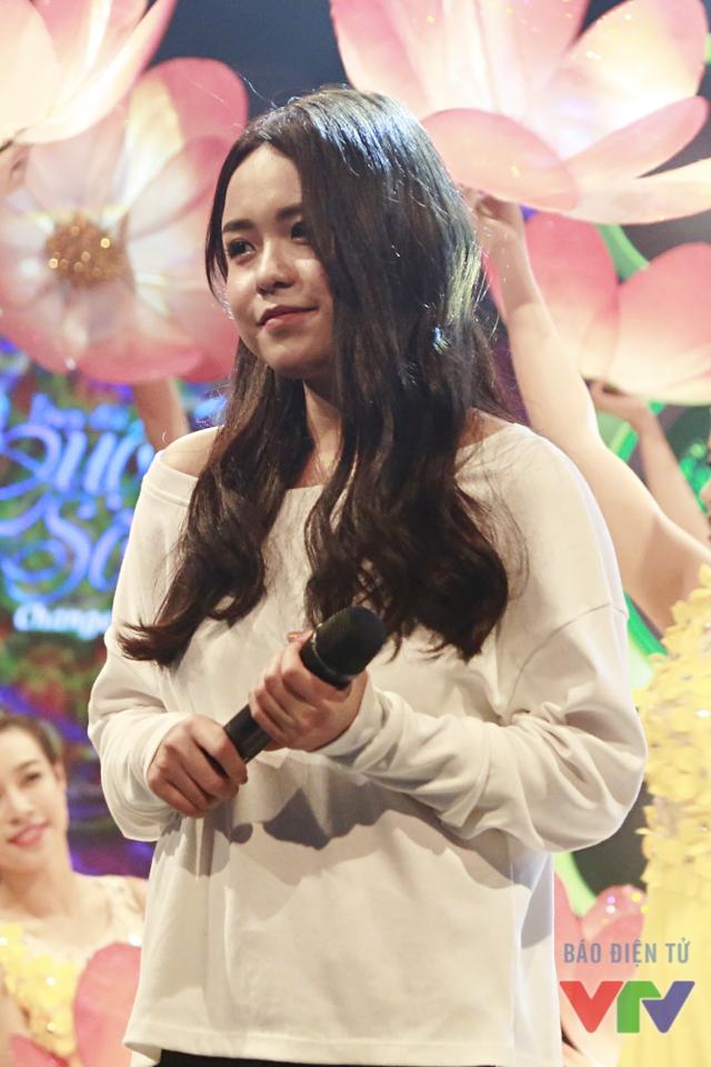 Cận cảnh vẻ đẹp đáng yêu của Thái Trinh
