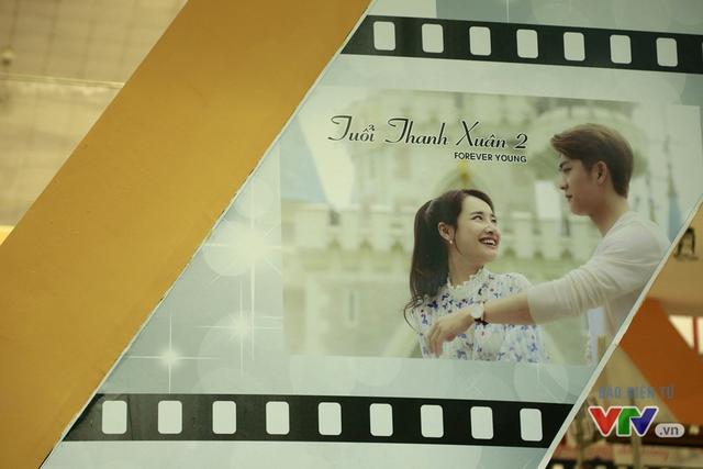 Hình ảnh của Tuổi thanh xuân 2 - bộ phim đang được nhiều khán giả chờ đợi - tại gian hàng của TvAD.