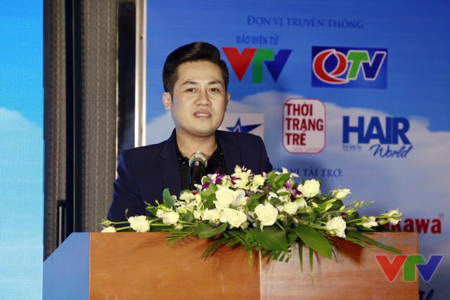 Ông Lý Minh Tuấn - Trưởng BTC cuộc thi phát biểu