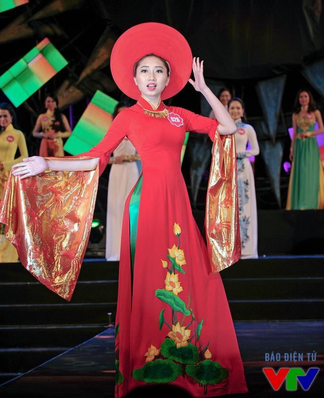 Vũ Linh Chi sinh năm 1994, đến từ Hải Dương