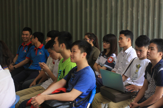 Cuộc thi thu hút sự tham gia của đông đảo khán giả