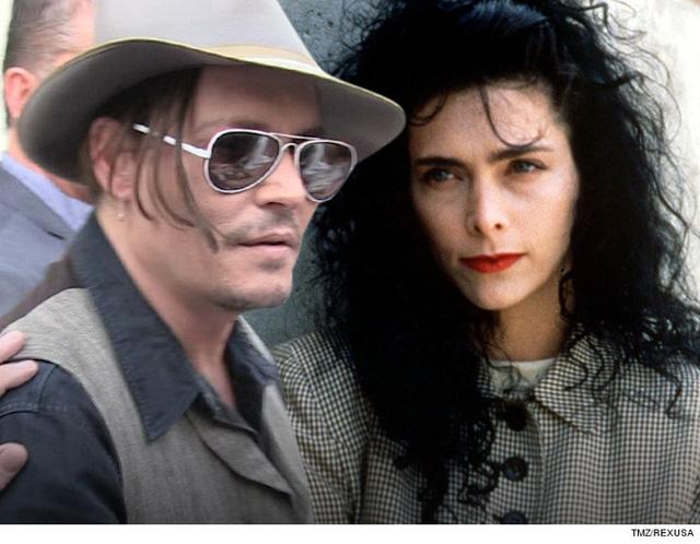 Johnny Depp và vợ cũ - Lori Anne Allison. (Ảnh: TMZ)