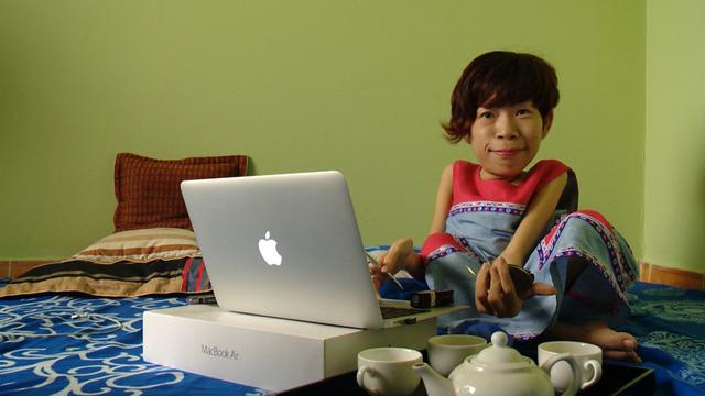 Nguyễn Thảo Vân - một trong những nhân vật trong bộ phim tài liệu