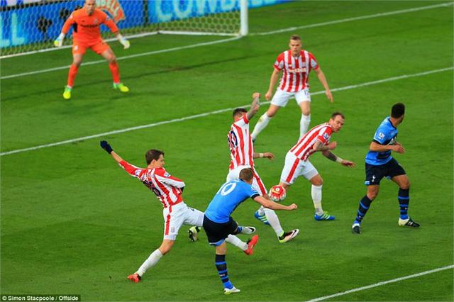 Harry Kane đã có bàn thắng thứ 24 tại giải Ngoại hạng Anh mùa này