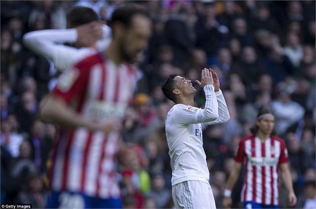Ronaldo là người chơi nổi bật nhất bên phía Real trong trận đấu với Atletico