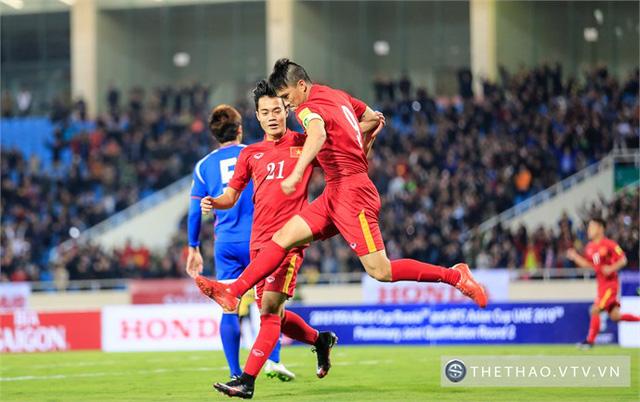 ĐT Việt Nam còn cơ hội mong manh để đi tiếp vào vòng loại thứ 3 World Cup 2018 khu vực châu Á