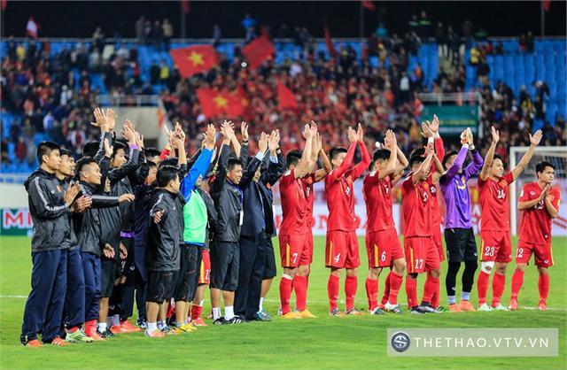 Để góp mặt tại VCK Asian Cup 2019, ĐT Việt Nam còn phải cố gắng và nỗ lực rất nhiều.