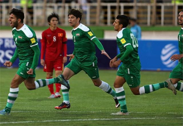 ĐT Iraq đã giành vé vào vòng đấu loại cuối cùng World Cup 2018