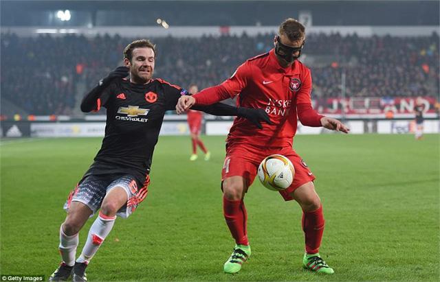 Man Utd bất ngờ bại trận trước Midtjylland ở lượt đi