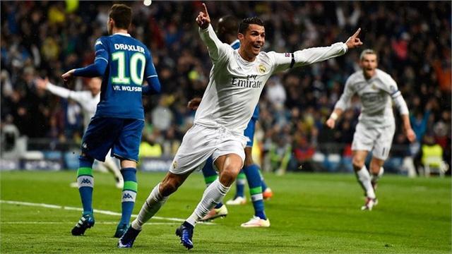 """Tuy nhiên ở trận lượt về, Ronaldo đã """"giải cứu"""" Real Madrid khi lập hat-trick. Qua đó, giúp Real Madrid giành vé vào bán kết với kết quả chung cuộc 3-2 sau 2 lượt trận."""