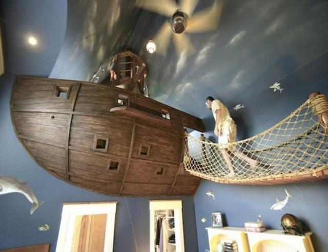 Cho các bé có giấc mơ làm thủy thủ.