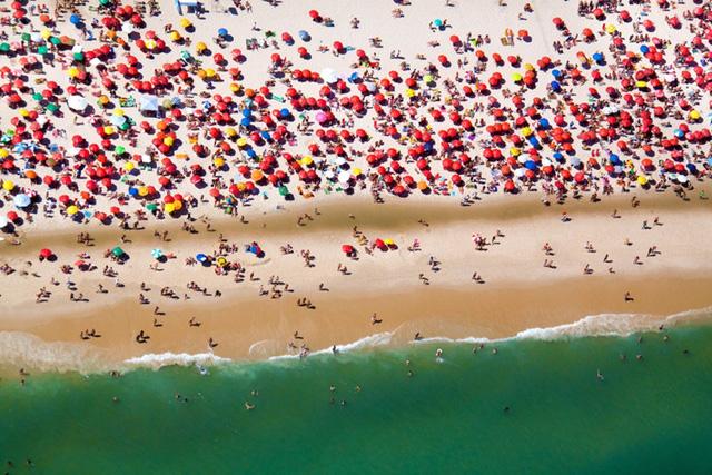 Bãi biển yêu thích của Malin là Rio de Janeiro bởi khung cảnh vô cùng nhộn nhịp ở đây.