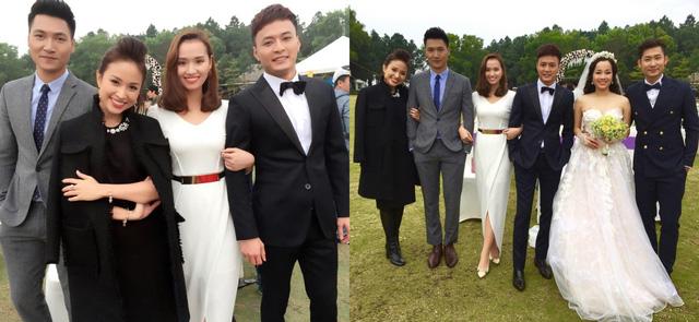 Thanh Vân Hugo cùng với các diễn viên trong phim Zippo, Mù tạt và Em.