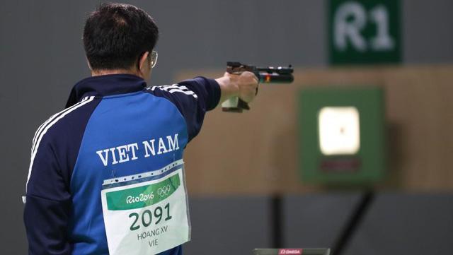 NHM Việt Nam đang chờ đợi Hoàng Xuân Vinh giành lấy tấm huy chương thứ 2 tại Olympic Rio 2016