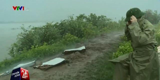 Từ khoảng 16h00 chiều nay 18/8, Quảng Ninh đã bắt đầu có mưa lớn