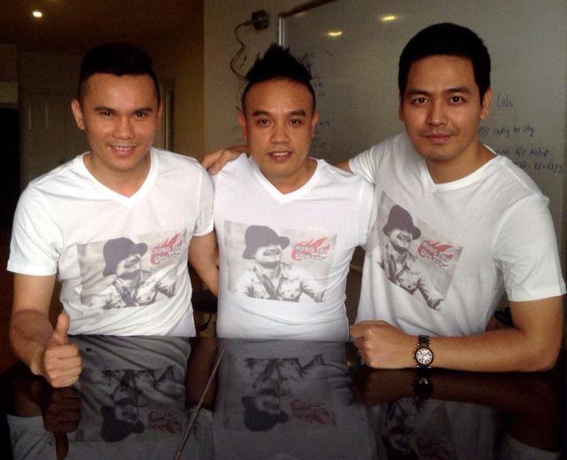 Nhạc sĩ Tú Dưa, ca sĩ Tô Minh Thắng và MC Phan Anh