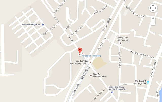 Bản đồ chỉ dẫn địa điểm thi đấu vòng loại Robocon Việt Nam 2016 khu vực phía Bắc
