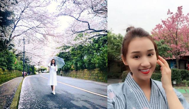 Lã Thanh Huyền vừa có chuyến du lịch cùng gia đình sang Nhật Bản để ngắm hoa anh đào. Nữ diễn viên vừa hoàn thành bộ phim truyền hình mới Zippo, Mù tạt và Em, dự kiến lên sóng vào tháng 8 này.