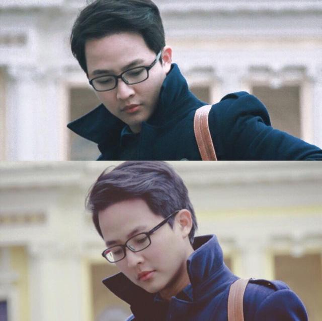 Sự năng động, tự tin của thầy giáo trẻ Lại Tiến Minh không chỉ thể hiện ở ngoài đời mà còn thể hiện trong những bài giảng tâm huyết