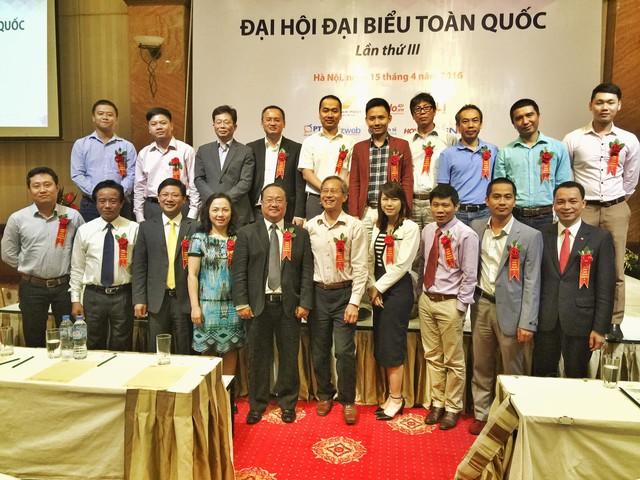 Ban Chấp hành Hiệp hội TMĐT Việt Nam giai đoạn 2016 - 2020