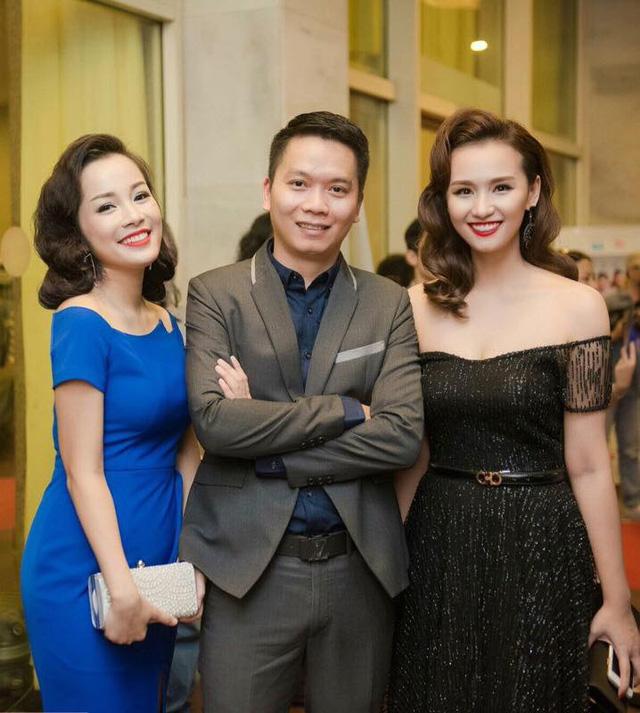 Diễn viên Minh Hương, đạo diễn Bùi Tiến Huy và diễn viên Lã Thanh Huyền.
