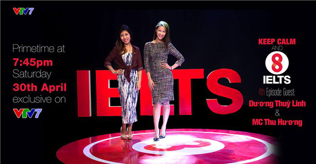 Cùng gặp gỡ Hoa hậu Hoàn Vũ 2008 - Dương Thùy Linh tại chương trình 8 IELTS số thứ 4