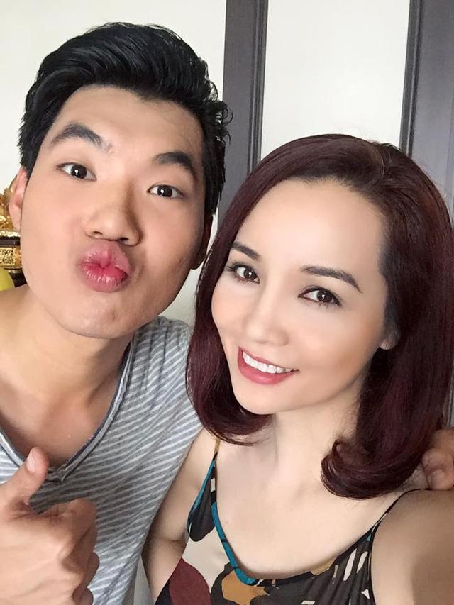 Sau Những ngọn nến trong đêm 2, Mai Thu Huyền lại có dịp hội ngộ với đàn em - người mẫu Trương Nam Thành trong một bộ phim mới.