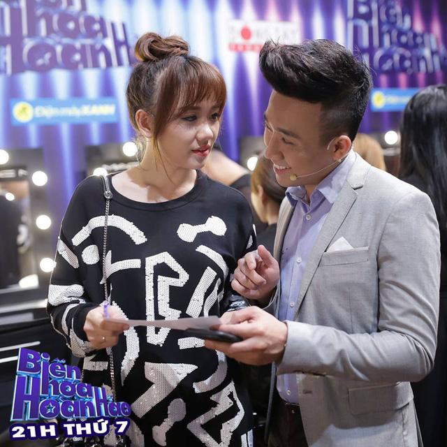 Trấn Thành - Hari Won tình cảm trong hậu trường Biến hóa hoàn hảo