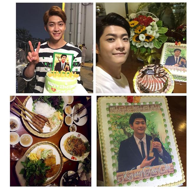 Khoảng thời gian đóng phim tại Việt Nam trùng với ngày sinh nhật của nam diễn viên trẻ. Đoàn làm phim đã tổ chức một bữa tiệc nhỏ dành cho Kang Tae Oh. Các fan Việt cũng gửi bánh sinh nhật đến thần tượng của mình.