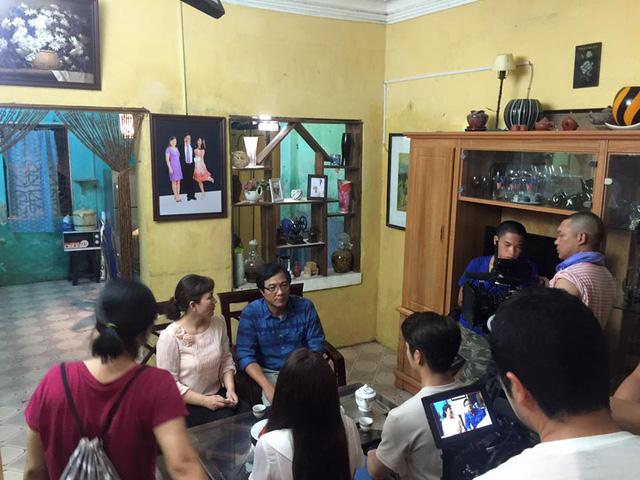 Một cảnh quay tại nhà Linh trong Tuổi thanh xuân 2.
