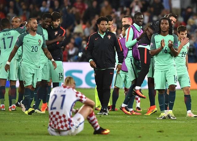 Trái ngược với điều đó là nỗi đau chiến bại của Croatia.