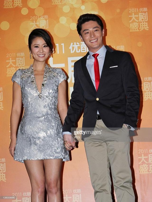 Lâm Tâm Như và Hoắc Kiến Hoa tại Youku Awards năm 2011. (Ảnh: Getty Images)