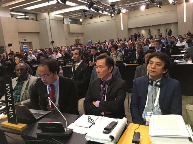 Đại sứ Phạm Sanh Châu và đoàn đại biểu Việt Nam tham dự hội nghị ở Istanbul, Thổ Nhĩ Kỳ.