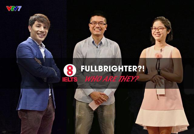 Sau tập 14 và 15 vừa qua, hẳn là các bạn đã nhận những nhân vật Fullbrighter là ai. Đó chính là Minh Beta, Phương Mặc Tri và Việt Nguyễn (theo thứ tự từ trái sang phải)