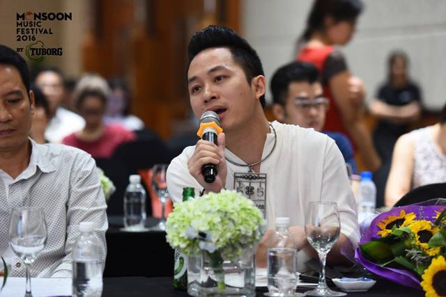 Ca sĩ Tùng Dương sẽ tham gia Monsoon Music Festival năm nay với dự án Rễ cây.