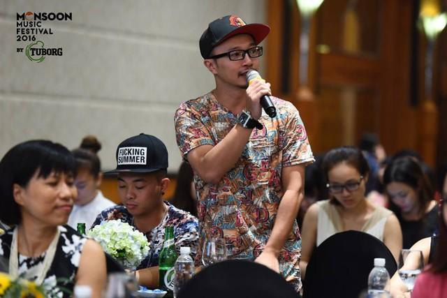 Rapper Hà Lê - thành viên của PB Nation.