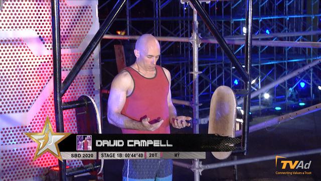 David Campell một lần nữa dẫn đầu với thành tích ấn tượng