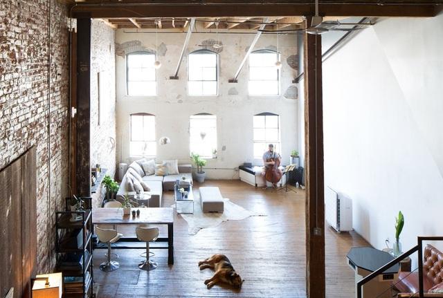 Ngôi nhà được thiết kế với không gian mở nên càng trở nên thông thoáng hơn.